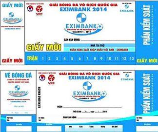 Mẫu Giấy Mời Eximbank