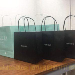 In Túi Giấy Cho Shop Thời Trang Inhous đẹp Chất Lượng.