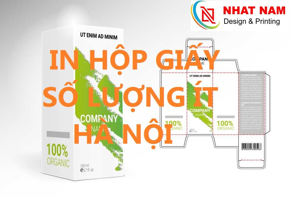 In hộp giấy số lượng ít Hà Nội