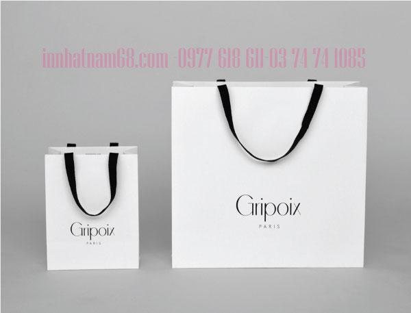 In túi giấy cho shop thời trang Gripoix Paris