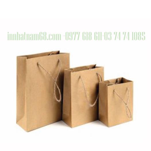 In túi giấy cho shop giá rẻ đẹp uy tín chất lượng