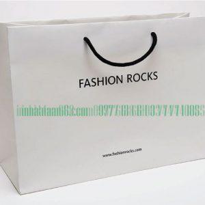 In Túi Giấy Cho Shop Thời Trang Fashion Rocks đẹp Giá Rẻ.