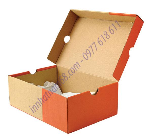 In hộp giấy carton đựng giày