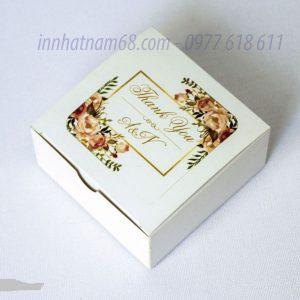 In Hộp Giấy đựng Mỹ Phẩm Handmade đẹp Giá Rẻ Theo Yêu Cầu.