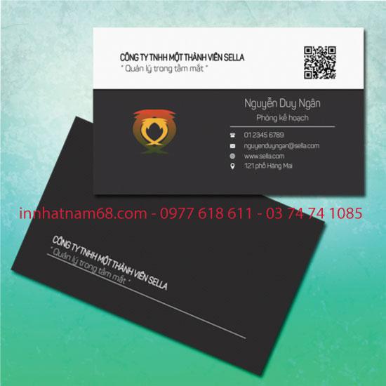 Mẫu name card công ty - C08