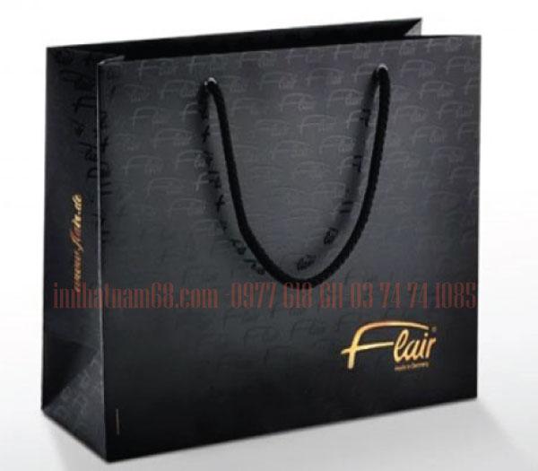 In túi giấy cao cấp cho shop thời trang Flair