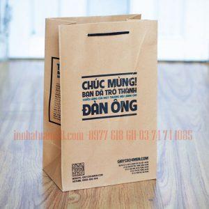 In Túi Giấy Cho Shop Giầy Nam Cao Cấp đẹp Chất Lượng.