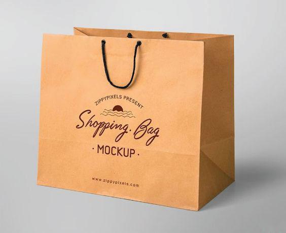 In túi giấy cho shop túi Shopping Bag