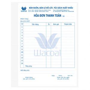In Hóa đơn Thanh Toán Cho Shop Phụ Kiên Thời Trang Giá Cạnh Tranh.