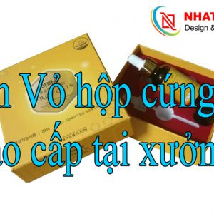 In Vỏ Hộp Cứng Cao Cấp