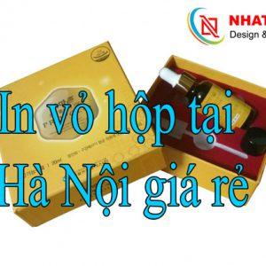 In Vỏ Hộp Tại Hà Nội