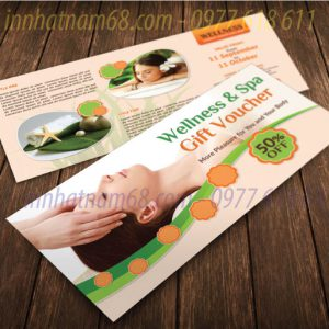 In Voucher Giảm Giá Cho Thẩm Mỹ Viện Wellness & Spa Giá Cạnh Tranh.