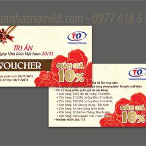 In Voucher Giảm Giá Cho Công Ty Thiên Quang Giá Cạnh Tranh.
