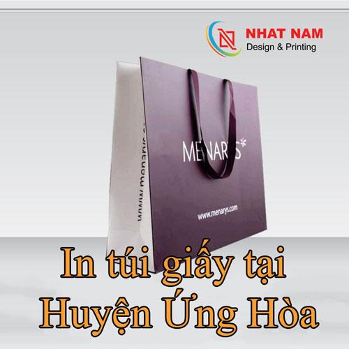 In túi giấy tại Huyện Ứng Hòa