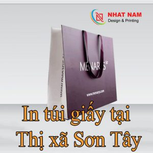In Túi Giấy Tại Thị Xã Sơn Tây
