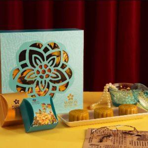 Bộ Túi & Hộp Giấy đựng 4 Bánh Trung Thu 100-150g