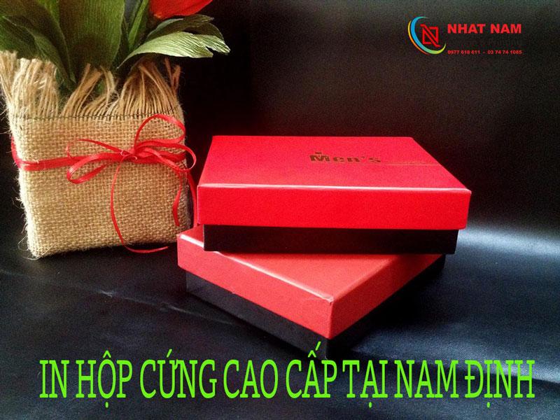 in hộp cứng cao cấp tại Nam Định